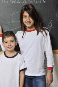 maglietta bambino manica lunga
