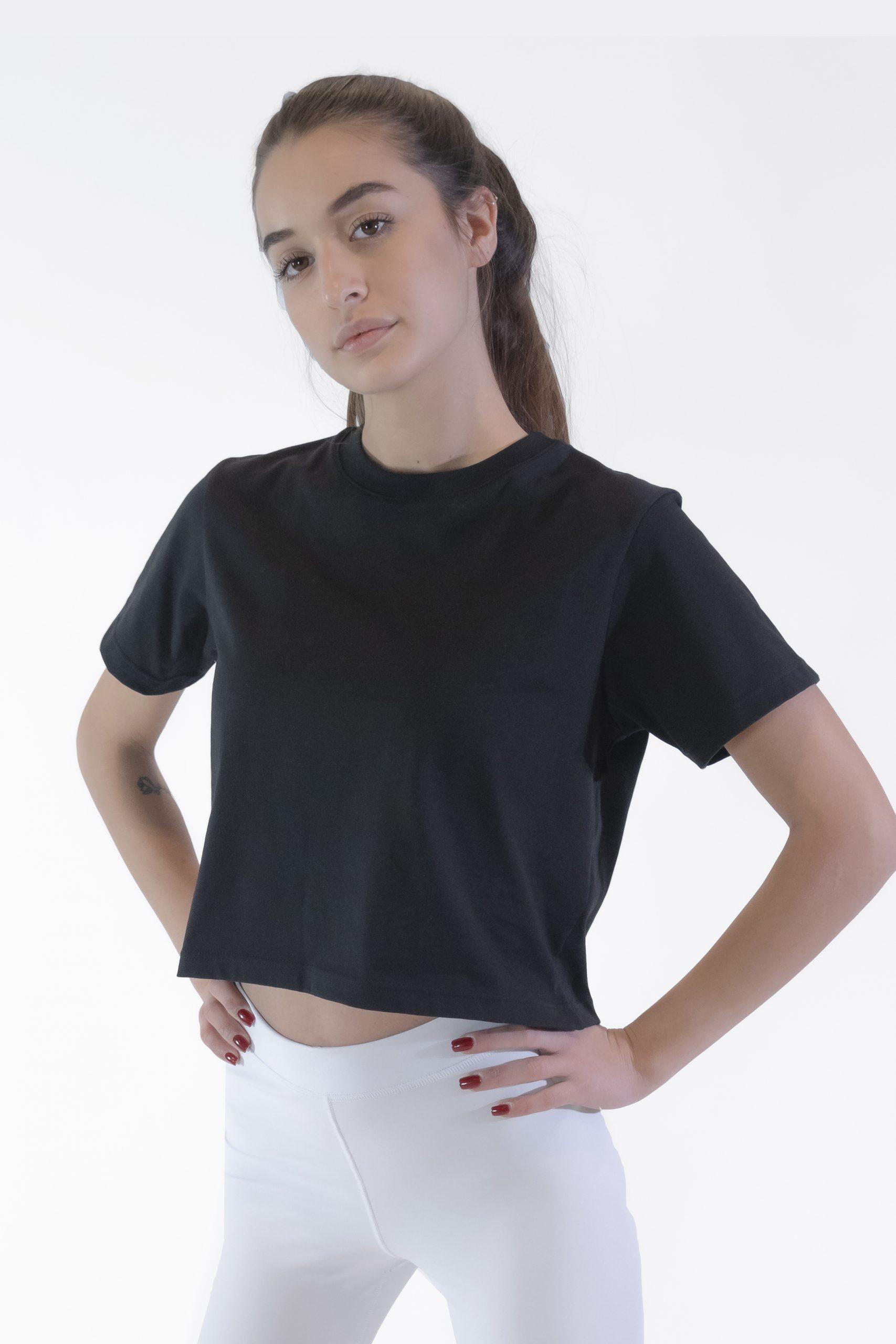 t-shirt corta donna
